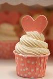 Ρόδινο cupcake Στοκ Εικόνες