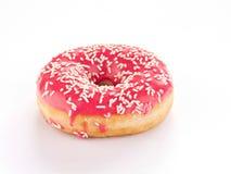 Ρόδινο doughnut Στοκ εικόνες με δικαίωμα ελεύθερης χρήσης