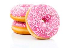 Ρόδινο doughnut Στοκ Εικόνα