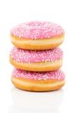 Ρόδινο doughnut Στοκ Εικόνες