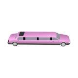 Ρόδινο limousine Στοκ φωτογραφία με δικαίωμα ελεύθερης χρήσης