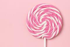 Ρόδινο Lollipop Στοκ Εικόνα