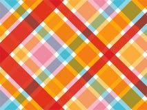 ρόδινο plaid καραμελών κόκκινο Στοκ εικόνα με δικαίωμα ελεύθερης χρήσης