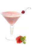 Ρόδι milkshake Στοκ φωτογραφίες με δικαίωμα ελεύθερης χρήσης