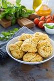Ρόλοι γευμάτων σκόρδου και τυριών Στοκ φωτογραφίες με δικαίωμα ελεύθερης χρήσης