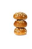ρόλοι γευμάτων Στοκ φωτογραφίες με δικαίωμα ελεύθερης χρήσης