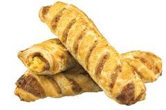 Ρόλοι τυριών & κρεμμυδιών στοκ φωτογραφίες με δικαίωμα ελεύθερης χρήσης