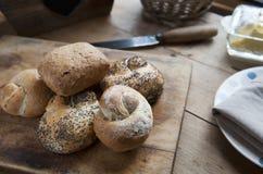 Ρόλοι ψωμιού Στοκ Εικόνα