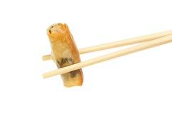 Ρόλος άνοιξη chopsticks Στοκ φωτογραφία με δικαίωμα ελεύθερης χρήσης