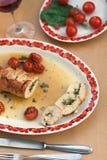 Ρόλος κρέατος της Τουρκίας Στοκ Εικόνα