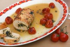 Ρόλος κρέατος της Τουρκίας Στοκ φωτογραφίες με δικαίωμα ελεύθερης χρήσης