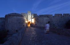Ρόδος, παλαιά πόλη στοκ εικόνα με δικαίωμα ελεύθερης χρήσης