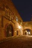 Ρόδος, παλαιά πόλη στοκ φωτογραφίες