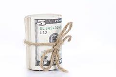 Ρόλος των χρημάτων Στοκ φωτογραφία με δικαίωμα ελεύθερης χρήσης