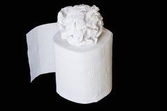 Ρόλος χαρτιού τουαλέτας Στοκ εικόνα με δικαίωμα ελεύθερης χρήσης