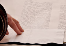 Ρόλος Torah στοκ φωτογραφίες