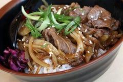 ρύζι βόειου κρέατος Στοκ φωτογραφία με δικαίωμα ελεύθερης χρήσης