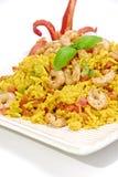 ρύζι γαρίδων στοκ φωτογραφία με δικαίωμα ελεύθερης χρήσης