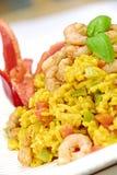 ρύζι γαρίδων στοκ εικόνες με δικαίωμα ελεύθερης χρήσης