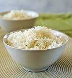 ρύζι δύο κύπελλων Στοκ εικόνα με δικαίωμα ελεύθερης χρήσης