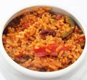 Ρύζι και λαχανικά Στοκ φωτογραφία με δικαίωμα ελεύθερης χρήσης