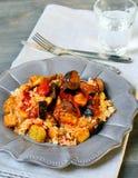 Ρύζι και λαχανικό Στοκ Φωτογραφία