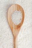 Ρύζι και κουτάλι Στοκ Εικόνα