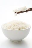 Ρύζι και chopstick στοκ φωτογραφίες