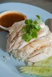 Ρύζι κοτόπουλου Hainanese Στοκ Εικόνα