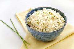 Ρύζι κουνουπιδιών στοκ φωτογραφίες με δικαίωμα ελεύθερης χρήσης