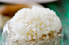 ρύζι κολλώδης Ταϊλανδός Στοκ Εικόνες