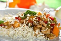 ρύζι κρέατος Στοκ φωτογραφίες με δικαίωμα ελεύθερης χρήσης