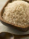 ρύζι κύπελλων ξύλινο Στοκ φωτογραφία με δικαίωμα ελεύθερης χρήσης