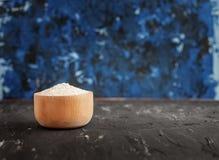 ρύζι κύπελλων συστατικό Η έννοια της υγιούς κατανάλωσης και του VE Στοκ εικόνα με δικαίωμα ελεύθερης χρήσης