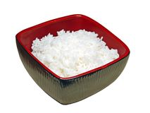 ρύζι κύπελλων Στοκ φωτογραφία με δικαίωμα ελεύθερης χρήσης
