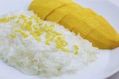 ρύζι μάγκο κολλώδες Στοκ φωτογραφίες με δικαίωμα ελεύθερης χρήσης