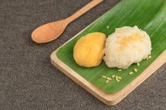 ρύζι μάγκο κολλώδες Στοκ εικόνα με δικαίωμα ελεύθερης χρήσης