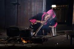 Ρύζι μαγείρων Στοκ φωτογραφία με δικαίωμα ελεύθερης χρήσης