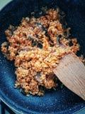 ρύζι μανιταριών στοκ εικόνες