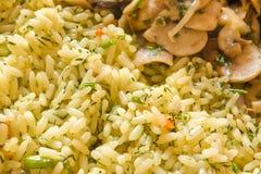 ρύζι μανιταριών Στοκ Φωτογραφία