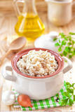 Ρύζι με τα λαχανικά Στοκ Εικόνα