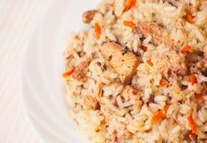 ρύζι με τα ψάρια στοκ εικόνες με δικαίωμα ελεύθερης χρήσης