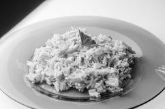 Ρύζι με το κρέας, plov Στοκ Εικόνα