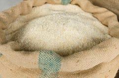 Ρύζι σε έναν σάκο Στοκ Εικόνες