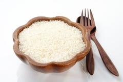 Ρύζι στο κύπελλο Στοκ Εικόνες