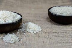 Ρύζι στο ξύλινο τόξο Στοκ Φωτογραφία