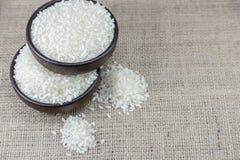 Ρύζι στο ξύλινο τόξο Στοκ Εικόνα