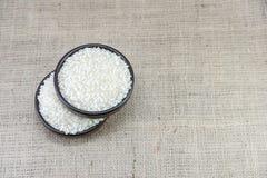 Ρύζι στο ξύλινο τόξο Στοκ Εικόνες