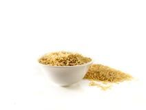 Ρύζι στο φλυτζάνι Στοκ εικόνα με δικαίωμα ελεύθερης χρήσης
