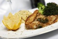ρύζι ψαριών εσπεριδοειδών eat2 στοκ εικόνα